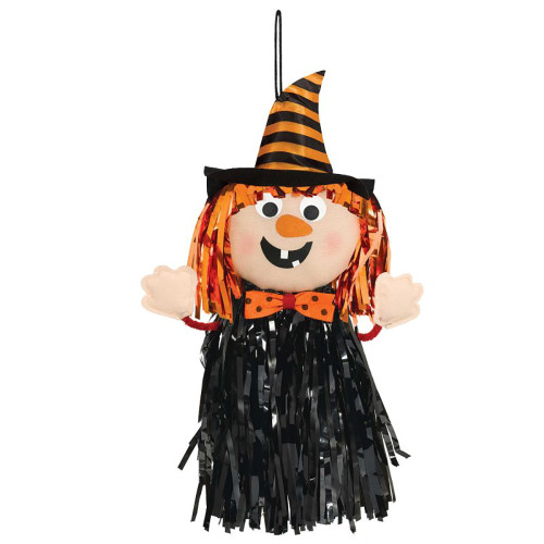 Fringe Friends Witch Prop Hanging Decoration