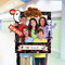 Happy Customizable Giant Photo Frame Prop