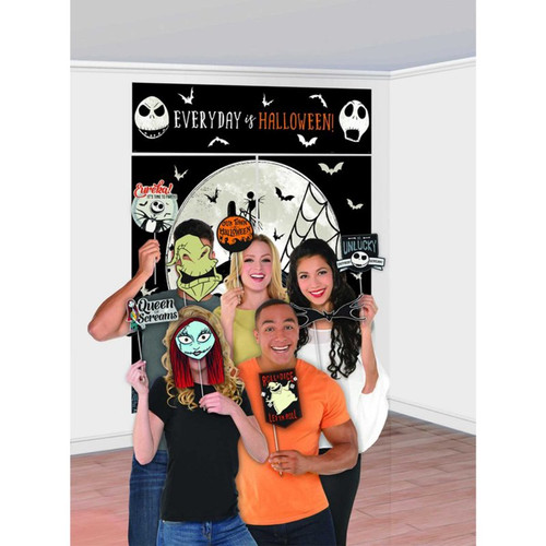The Nightmare Before Christmas Plastic Scene Setter And Photo Props