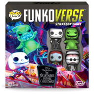 Funkoverse Nightmare Before Christmas 100 4pack Board Game
