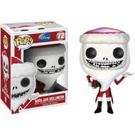 Nightmare Before Christmas Santa Jack Pop