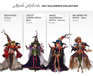 Witches of Halloween - Mark Roberts 2021 Catalogue