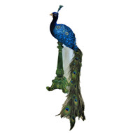 Katherine's Collection Paradise Tabletop Peacock