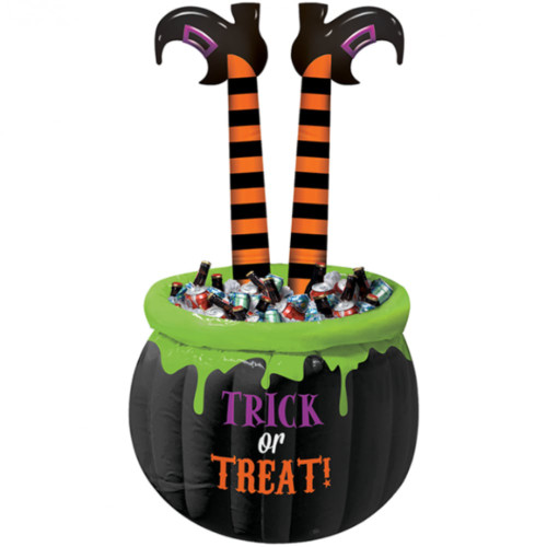 Witches Legs Inflatable Drink Cooler Trick Or Treat