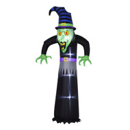 Black Halloween Inflatable Witch