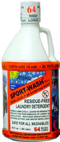 Sport-Wash Laundry Detergent -  2 Quart (64 Wash Loads)