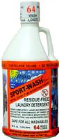 Sport-Wash Laundry Detergent -  2 Quart (64 Wash Loads)