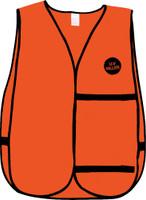U-V-Killer Treated Blaze Orange Vest