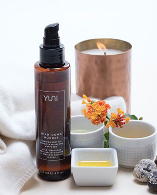 Wind-Down Wonder Warming Body Oil