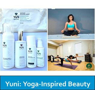 Yoga Inspired Beauty - October 2015
