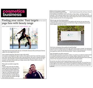 Cosmetics Business - January 2016