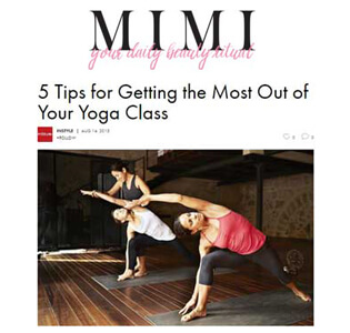 5 Tips For Getting The Most Out Of Yoga - October 2015