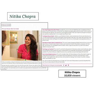 Nitika Chopra - February 2016