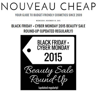 Nouveau Cheap - November 2015