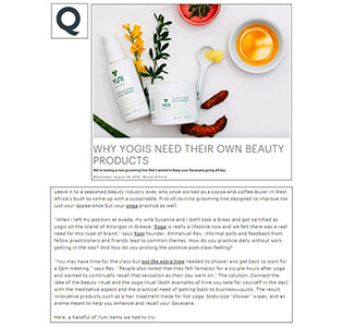 Q by Equinox - August, 2015