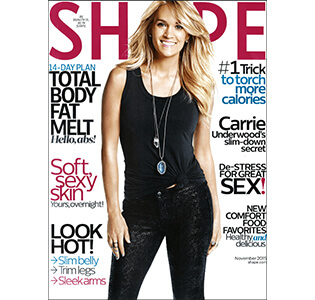 Shape Magazine - November 2015