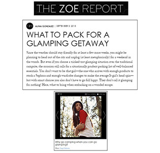 The Zoe Report - September, 2015