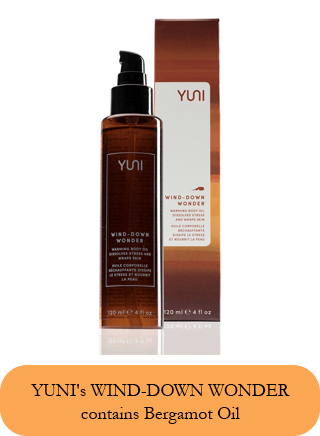 warming body oil
