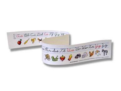 Cursive Writing Desk Strip