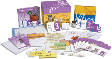 Fundations Classroom Set Level 3 (1 Teacher's Kit & Materials for 25 Students)