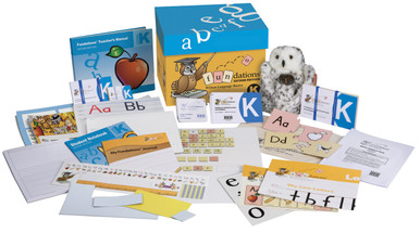 Fundations Classroom Set Level K (1 Teacher's Kit & Materials for 25 Students) Second Edition