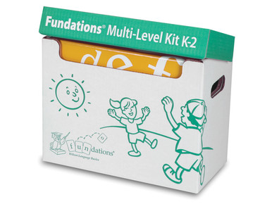 Fundations Multi-Level Kit K-2 Second Edition