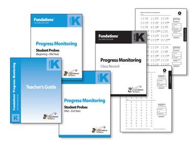 Fundations Progress Monitoring Level K (Second Edition)