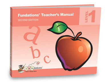 Fundations Teacher's Manual 1 Second Edition