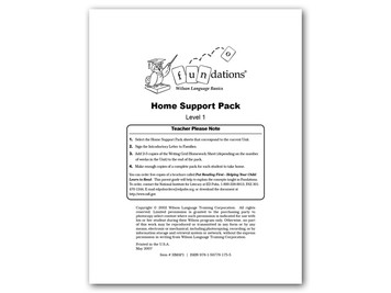Home Support Pack 1 Second Edition