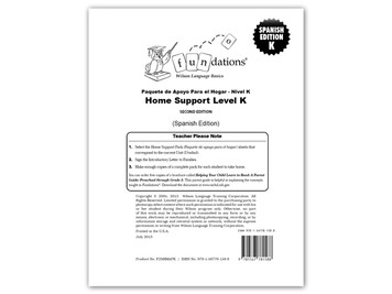 Home Support Pack K (Spanish) Second Edition