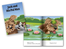 Jack and His Pal Max cover and spread