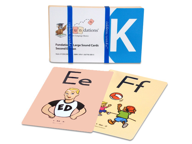 image regarding Fundations Sound Cards Printable identify Huge Strong Playing cards K