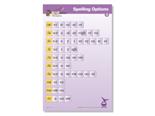 Spelling Options Poster 3 Second Edition