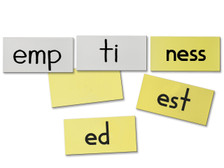 Suffix and Syllable Frames