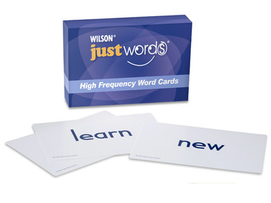 Just Words High Frequency Word Cards