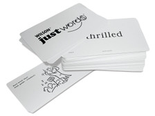 Just Words Word Cards