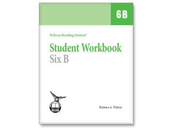 WRS Student Workbook 6 B
