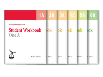 WRS Student Workbooks 1-6 A Set