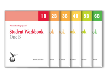 WRS Student Workbooks 1-6 B Set