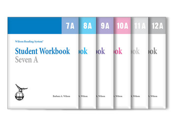 WRS Student Workbooks 7-12 A Set
