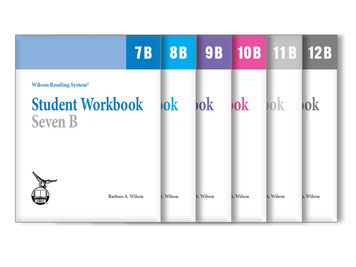 WRS Student Workbooks 7-12 B Set