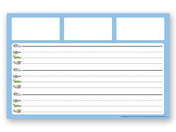 Large Dictation Grid