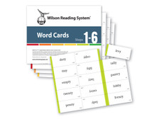 WRS Word Cards (Steps 1-6), 4th Edition