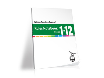 WRS Rules Notebook (Steps 1-12),  4th Edition