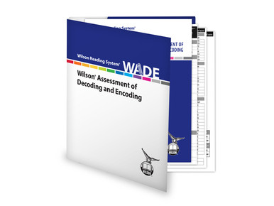 WADE (Wilson Assessment of Decoding and Encoding), 4th Edition