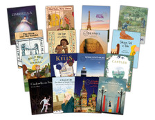 The 16 titles in Module 4 - Cinderella Stories.