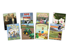 The 8 titles in Module 2 - Once Upon a Farm.