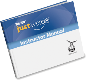 Just Words Teacher Manual