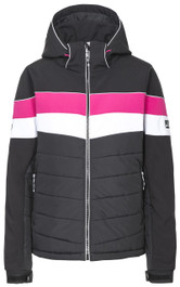 KINSALE - WOMEN'S STRETCH INSULATED WINDPROOF PADDED SKI JACKET