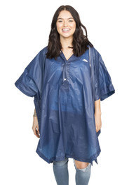 CANOPY UNISEX BLUE PACKAWAY PONCHO